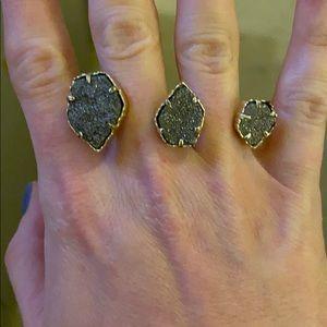 Kendra Scott Naomi druzy ring